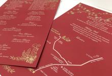 Invitation Design by Oats DIY