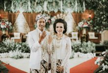 Wedding Ocha & Hisyam by vanillablue