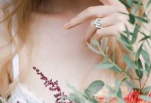 Diamond Double Square by Ocampo's Fine Jewellery