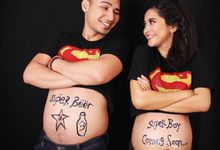 Maternity Photoshoot by Archa makeup artist