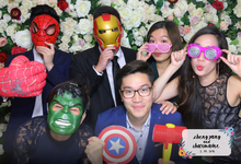 Wedding Instant Print Photobooth SG  by Oh Snap Productions