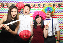 Weidi & Violet Basic Photobooth Package  by Oh Snap Productions