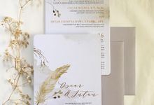 Oscar & Intan Invitation by Gracia The Invitation