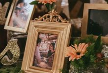 Luxe Gold Elegance by A Quaint Revelry