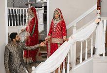 Sana weds Hamza by StudioSixFifteen