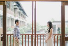 Prewedding in bali oliver and nathaly by StayBright