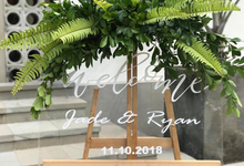 The Wedding of Jade & Ryan by Oma Thia's Kitchen Catering