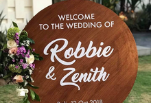 The Wedding of Robbie & Zenith by Oma Thia's Kitchen Catering