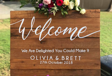 The Wedding of Olivia & Brett by Oma Thia's Kitchen Catering