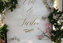 The Wedding of Eric & Sicilia by Oma Thia's Kitchen Catering
