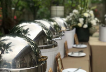 The Wedding of Daniel & Wilma by Oma Thia's Kitchen Catering