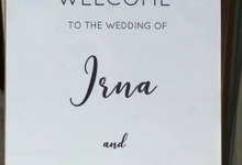 The Wedding of Irna & Darren by Oma Thia's Kitchen Catering