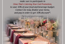 YEAR END BACK PROMOTION by Oma Thia's Kitchen Catering