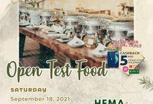 Open Test Food Menara BNI Grand Ballroom x Hema Catering by Sky Wedding Entertainment Enterprise & Organizer