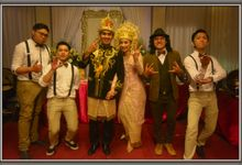 Marsha & Rifky Wedding At Green Forest by Josh & Friends Entertainment