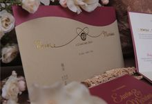 Erwin & Marvina by Grande Gracias Invitations