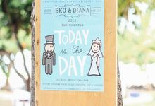 Eko & Diana Wedding by Dekor Indonesia