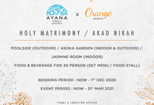Hotel Ayana Midplaza Jakarta by Orange Organizer