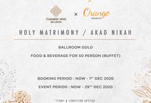 Thamrin Nine Ballroom Jakarta by Orange Organizer
