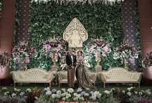 Gabby & David by Orange Wedding Planner