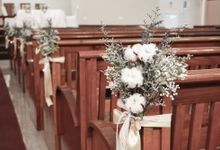 Philip & Cindy Wedding at Thomson Road Baptist Church by Bloomwerks