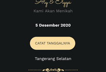 Al & El - Thema Java Website Invitation by Our Love Day