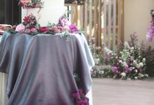 Christian & Valencia Wedding by Oursbake