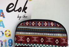 Pouch oval by Elok by Ibu