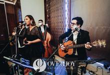 Intimate Luncheon Wedding Celebration -Raffles JKT by OVERJOY ENTERTAINMENT