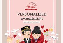 Digital Invitation by Port of Tasya