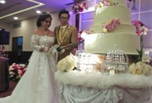 The Wedding Of Elza & Rian by Uci Bakery