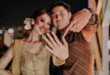 Engagement Firsi & Dhafin by Jamsorewedding