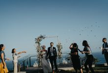 Martin & Daniela wedding by Six Senses Uluwatu, Bali