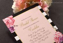 CORDELIA Bridal Shower by Vinas Invitation