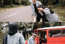 Prewedding Fani & Diqie by oxsal story
