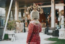 Glasshouse The Ritz-Carlton | Al & Adith by diskodiwedding