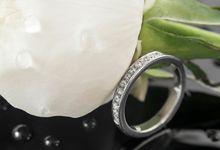 Atalia wedding ring by Reine