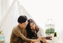 Teepee Tent for Iwan and Steffi Styled Pre-Wedding Photoshoot by aimee