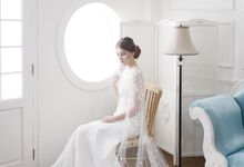Audrey Cape Dress by La Sposa