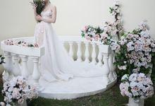Flowery Nude Gown by La Sposa