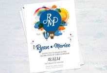 Wedding Invitation by cocoyponce graphic design