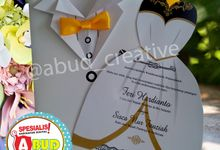 Elegant Ribbon Invitation by Abud Creative Design