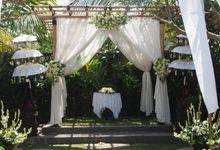 Wedding in Bebek Tepi Sawah Villas by Bebek Tepi Sawah Villas