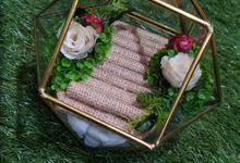 Diamond Glass for Dinar Mahar Abi dan Gatya by Hana Seserahan