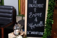 Engagement - Sangjit Decoration Marcell and Brian by Hana Seserahan