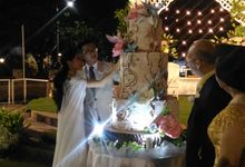 Thematic Cake For Alfons & Venny by Liebelux Cake