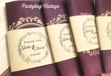 Shinta & David Wedding  by Packy Bag Vintage