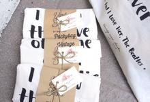 Verdy + Sasha Wedding ☘️ by Packy Bag Vintage
