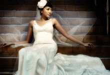 wedding gowns shoot by Pretty In White
