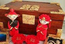Sixty years wedding anniversary Chinese wedding treasure cake by Scones n Whatever by Kim Teo